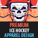 Ice Hockey Apparel Design - GraphicRiver Item for Sale