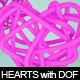 3D Hearts with Zdepth Effect - GraphicRiver Item for Sale