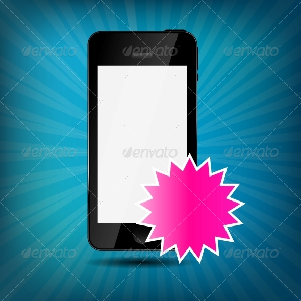 GraphicRiver Abstract Mobile Phone Vector Illustration 4834946
