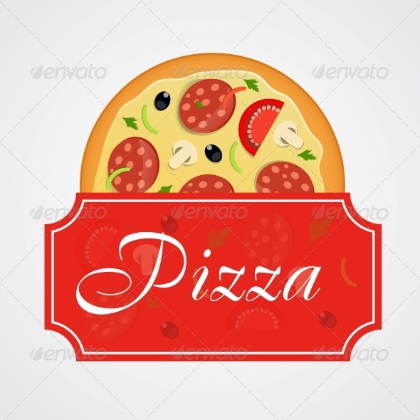 GraphicRiver Pizza Menu Template Vector Illustration 4834957