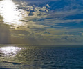 Sun's Rays Over the Ocean - PhotoDune Item for Sale