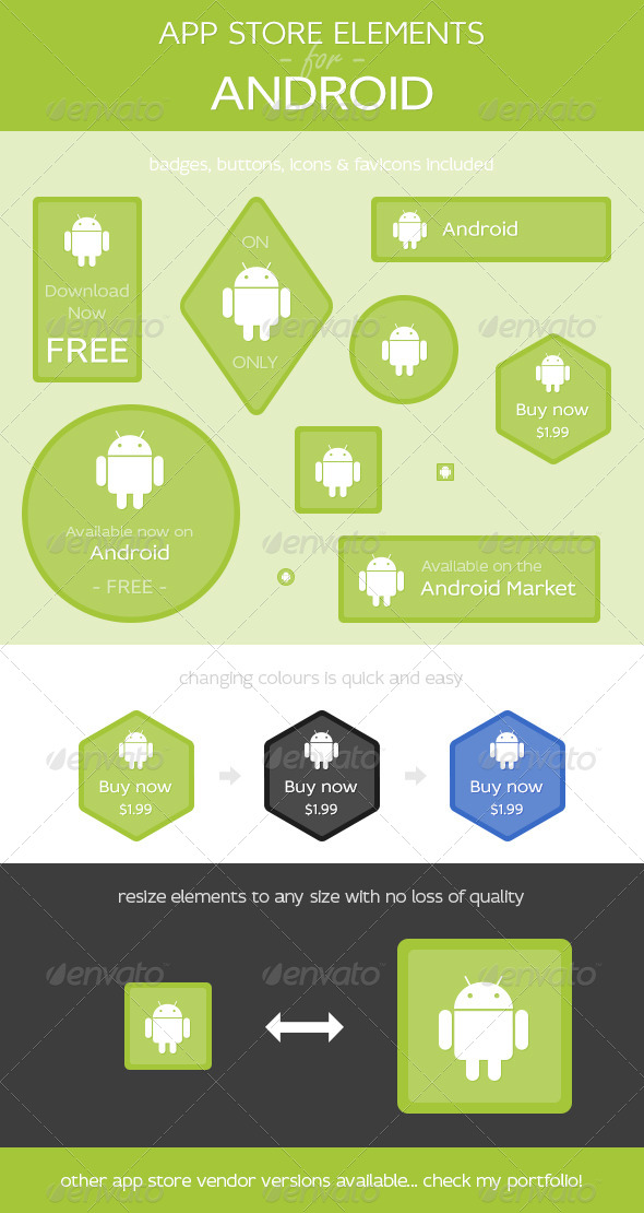 GraphicRiver App Store Elements for Android 4836358
