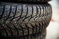 Four Seasons Car Tire - PhotoDune Item for Sale