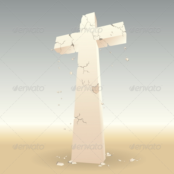 GraphicRiver Crumbling Cross 4836447