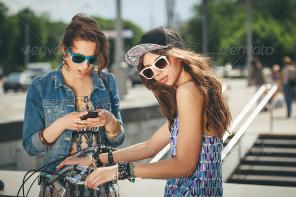 young active women - Stock Photo - Images