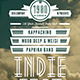Indie Fest Flyer / Poster (1) - GraphicRiver Item for Sale