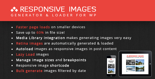 Responsive Images Generator & Loader - WorldWideScripts.net element for salg