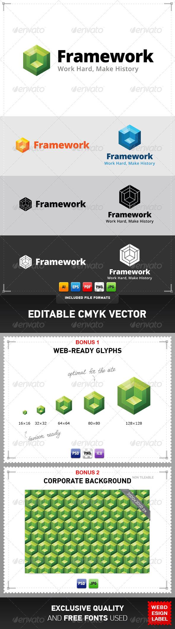 GraphicRiver Framework Logo 4837246