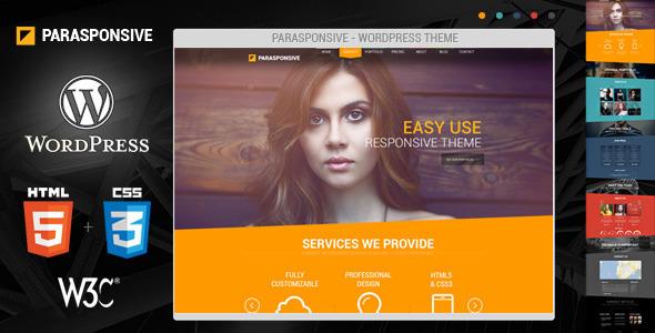 ThemeForest Parasponsive WordPress Responsive Parallax 4796867