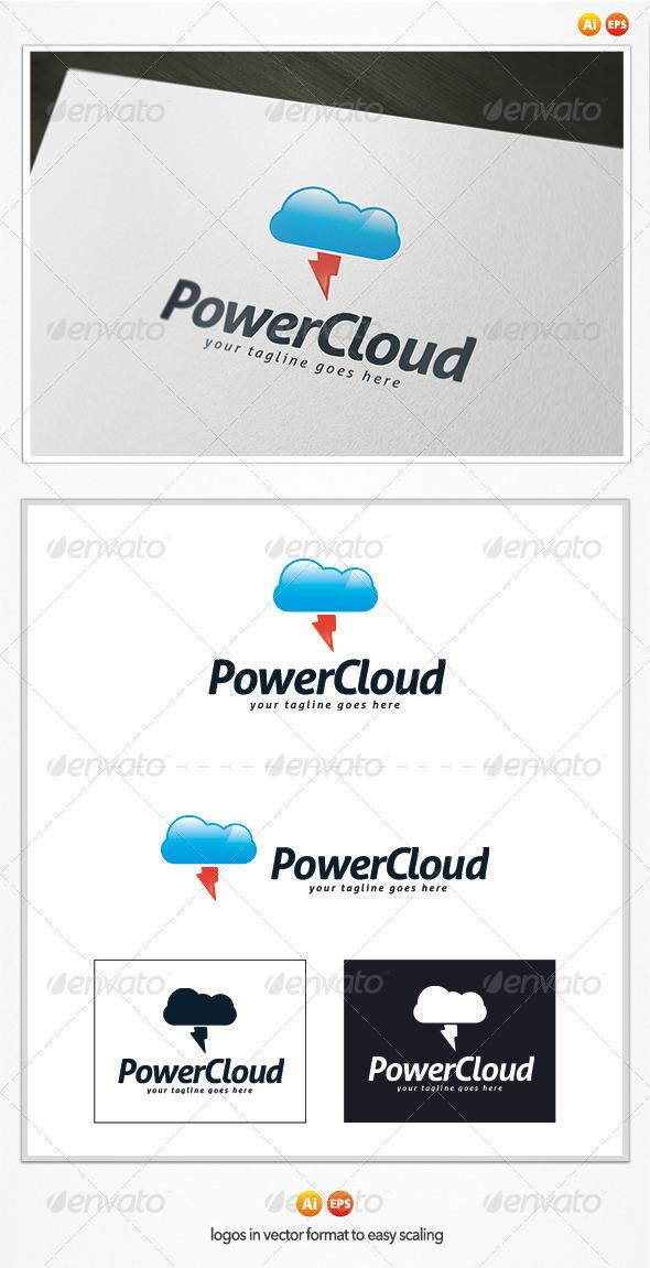 GraphicRiver Power Cloud Logo 4837385