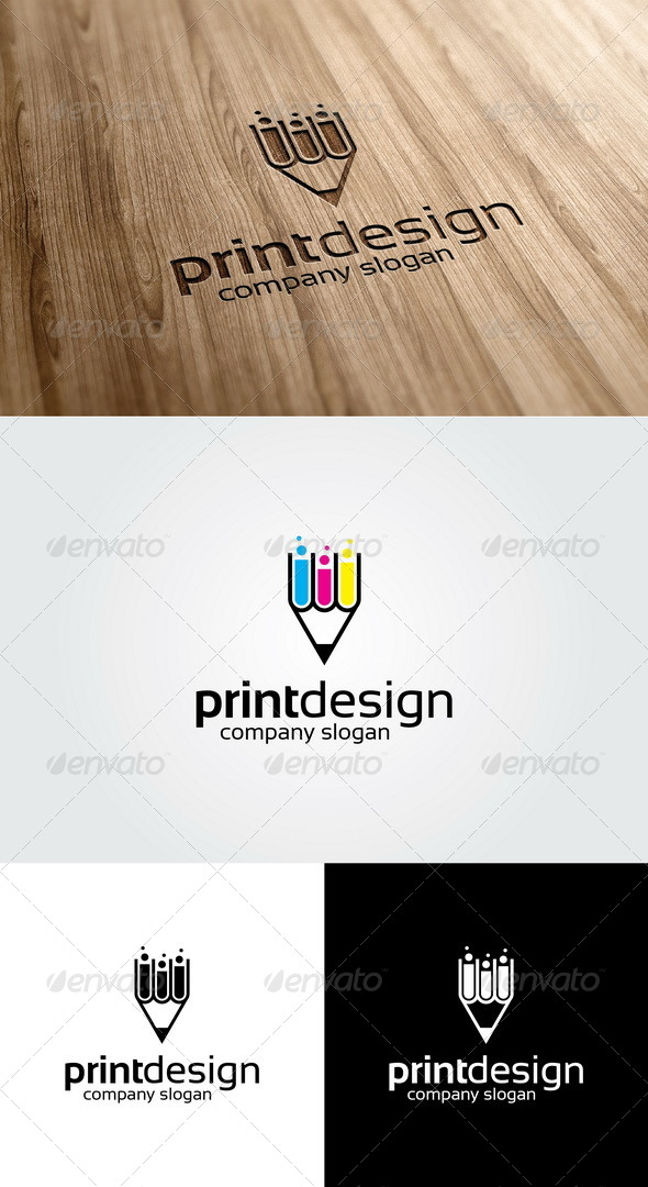 GraphicRiver Print Design Logo Template 4837459