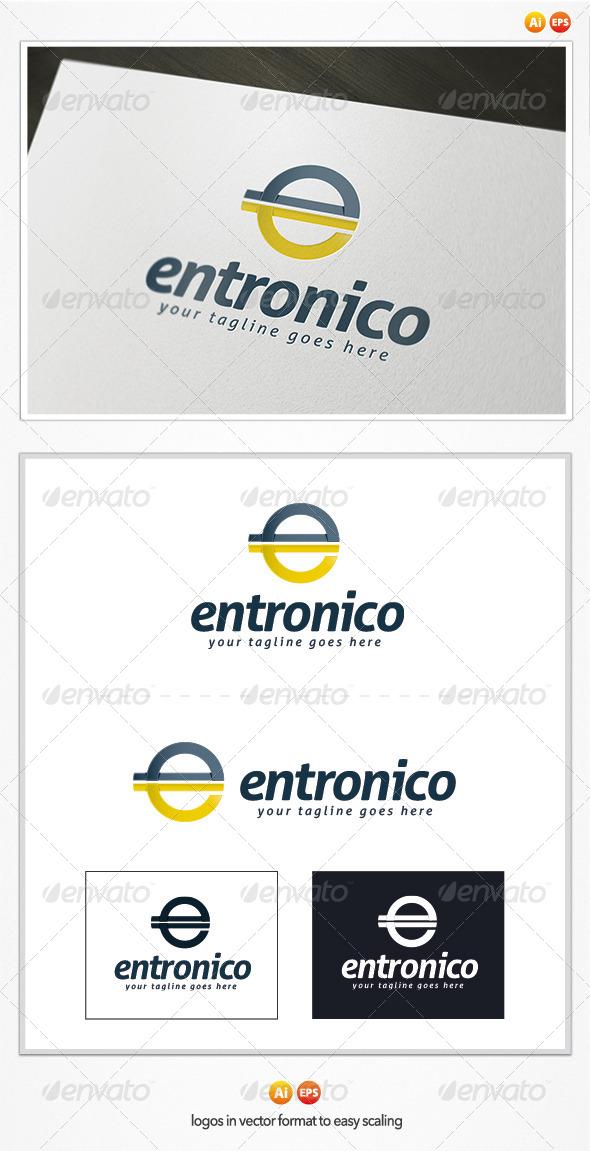 GraphicRiver Entronico Logo 4837497