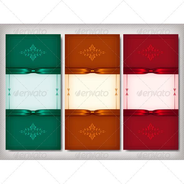 GraphicRiver Vintage Invitation Cards 4837500