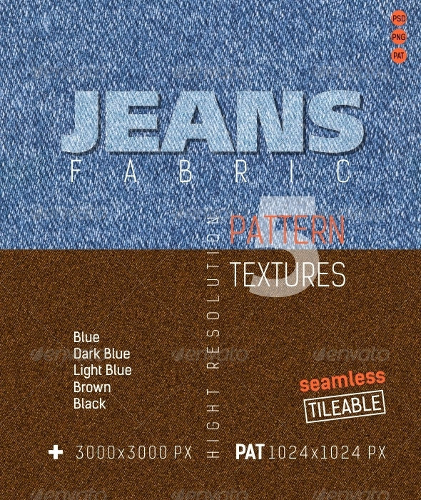 3DOcean Jeans Fabric Texture 4837573