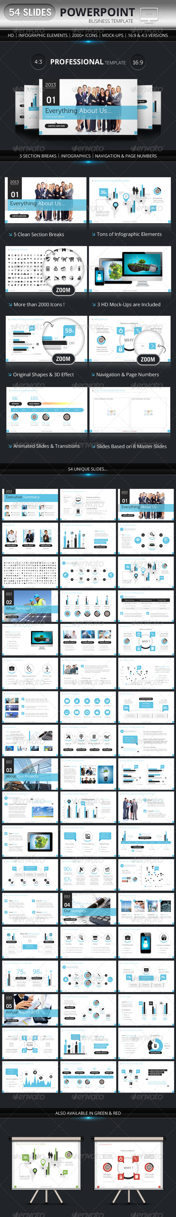 GraphicRiver PowerPoint Business Presentation Template 4838804