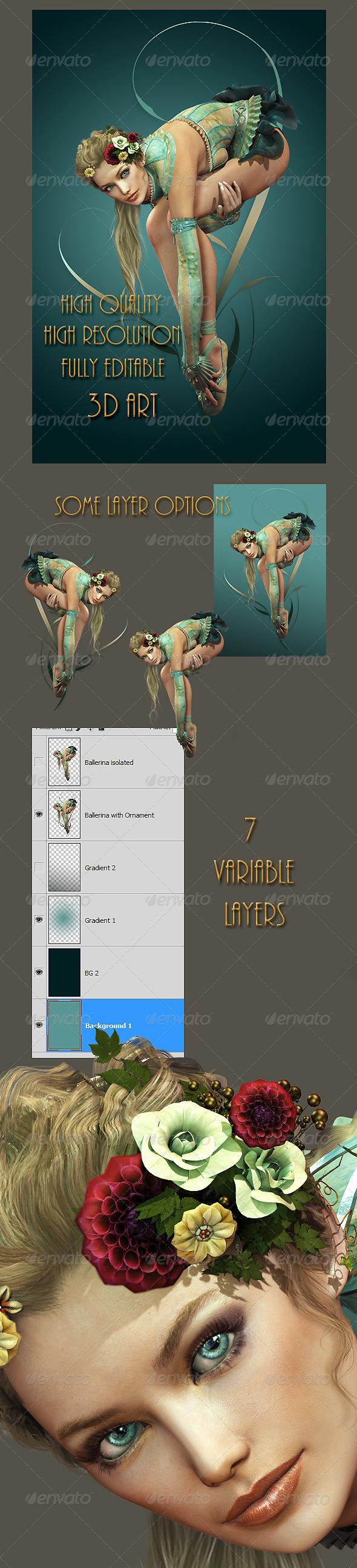 GraphicRiver Ballerina 4839256