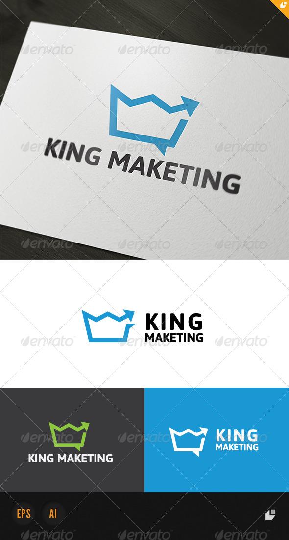 GraphicRiver King Marketing Logo 4839330