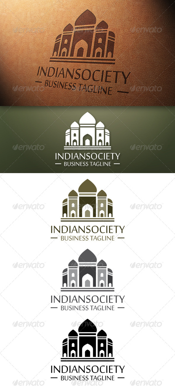 GraphicRiver Indian Society Logo Template 4840359