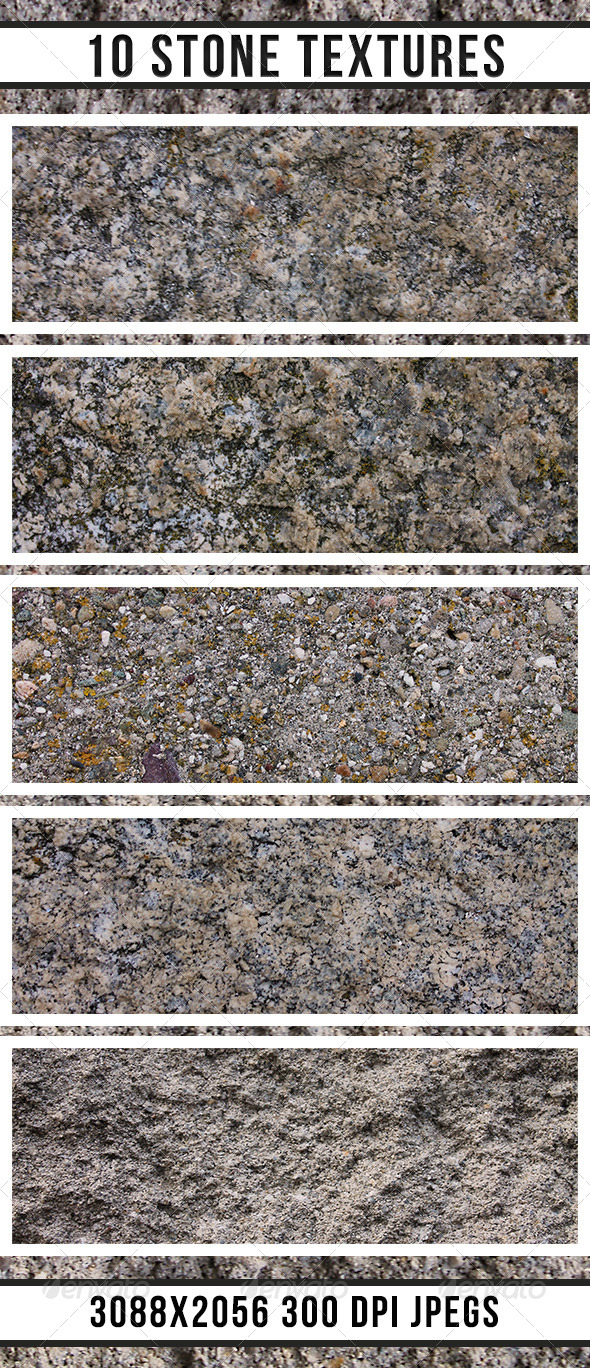 GraphicRiver 10 Stone Textures 4841411