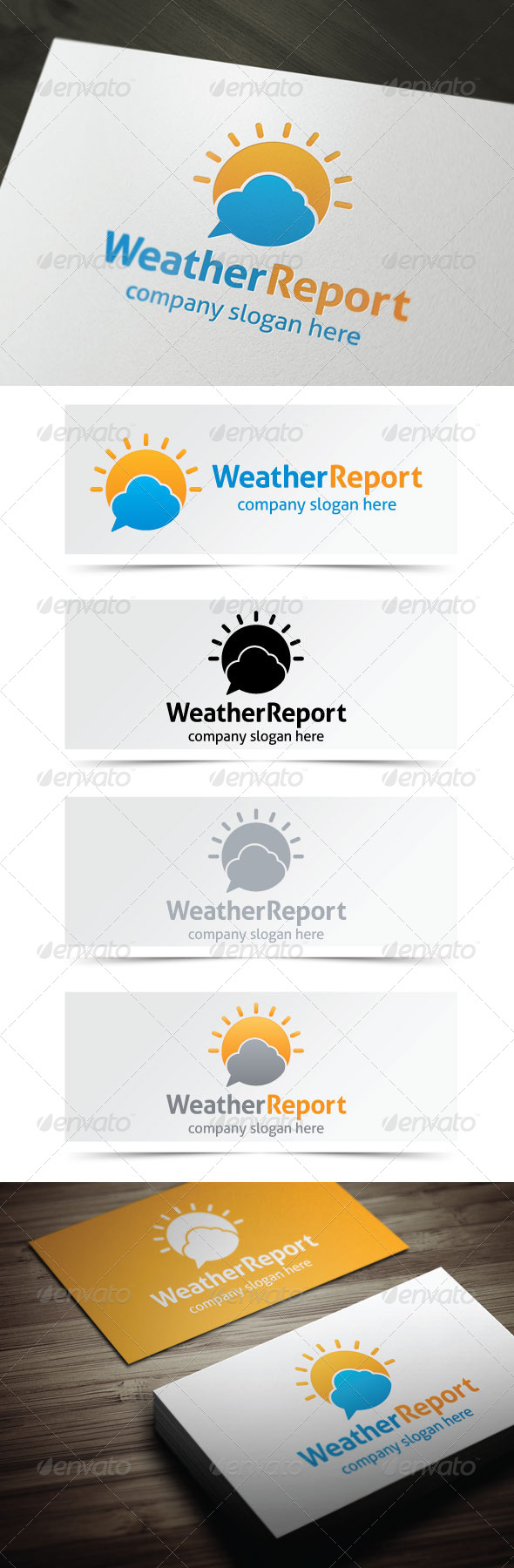 GraphicRiver Weather Report 4843760
