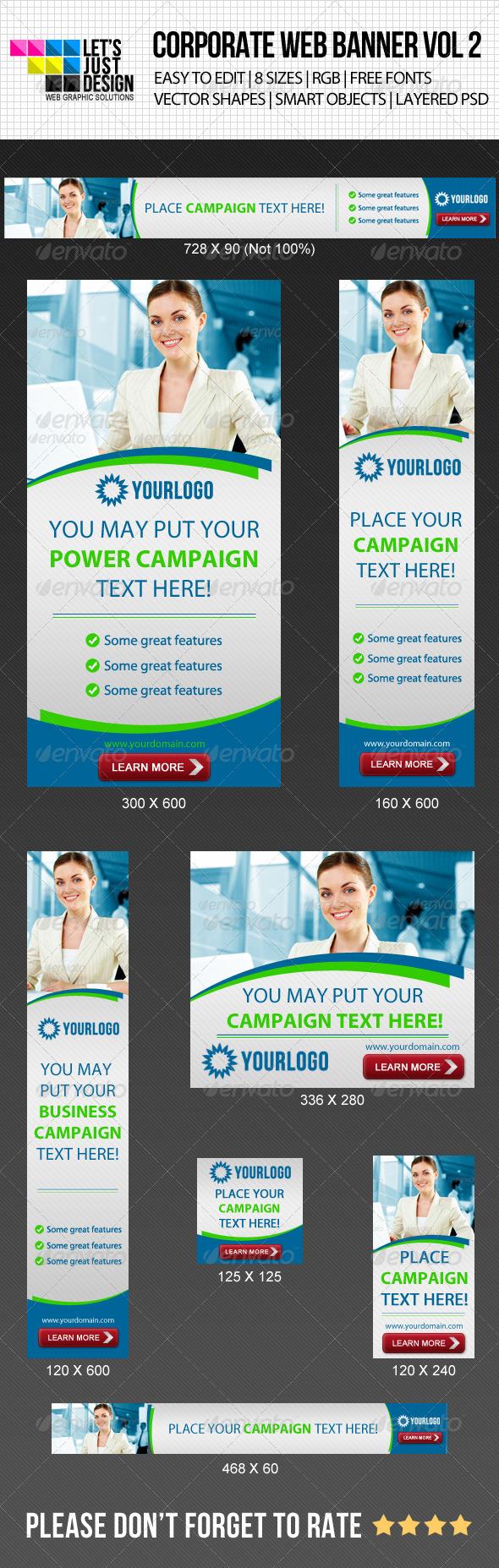 GraphicRiver Corporate Web Banner Vol 2 4843863