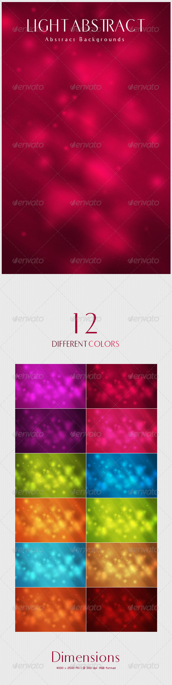 GraphicRiver Light Abstract Backgrounds 4843872