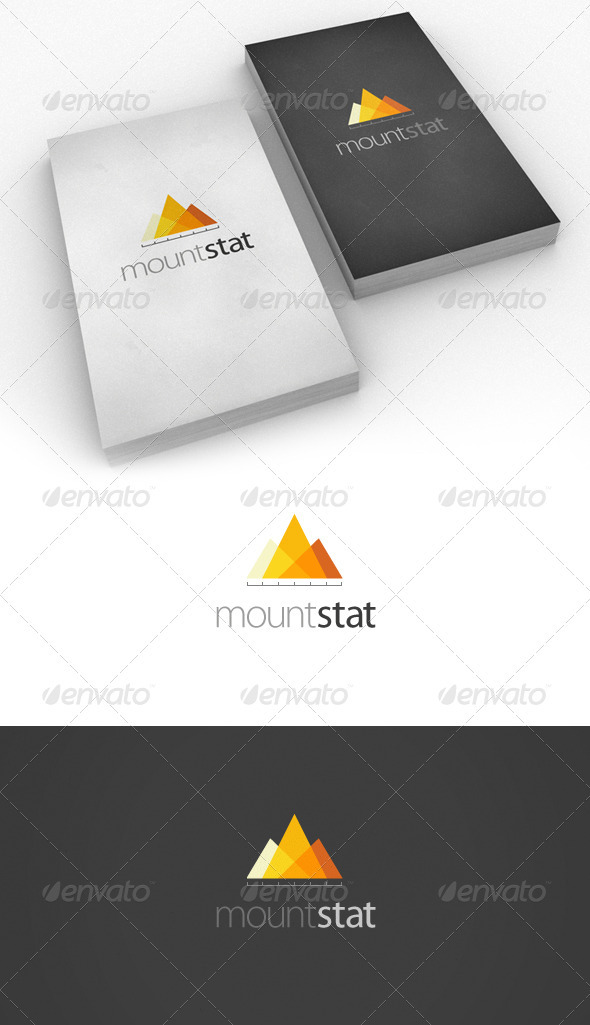 GraphicRiver Mount Stat Logo for business 500310