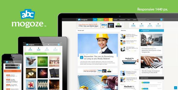 Mogoze - Responsive 1440px HTML5 Template
