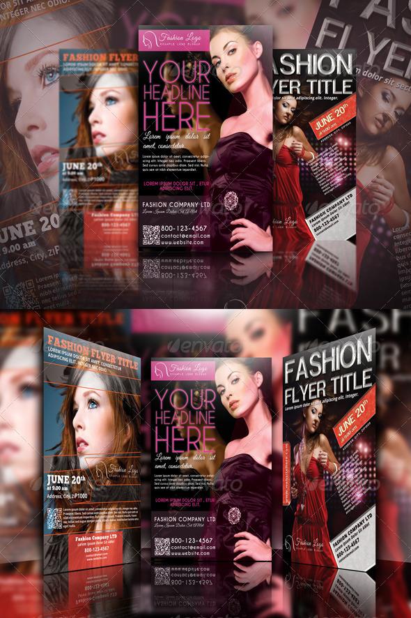 GraphicRiver Fashion Flyer Bundle Vol.1 4844341