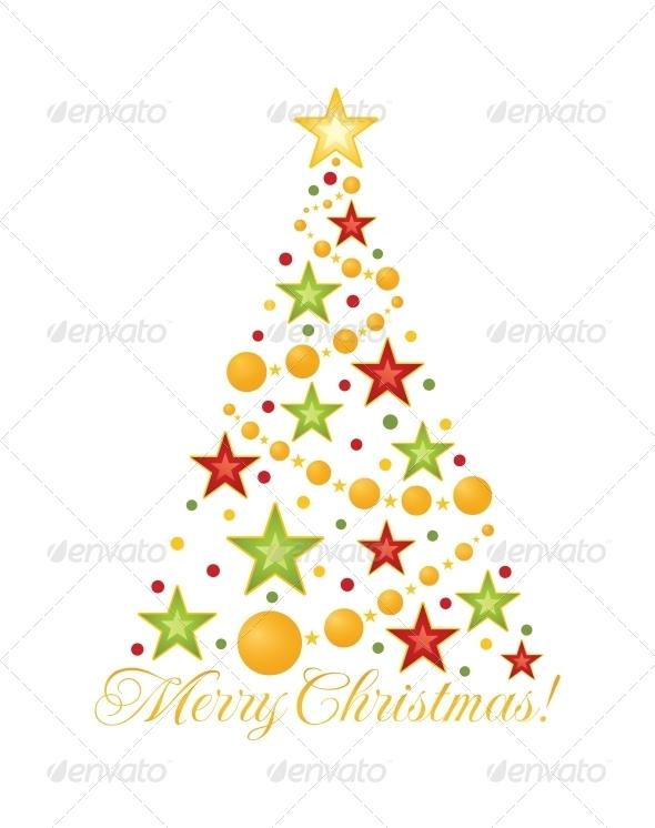 GraphicRiver Christmas Tree 4846360