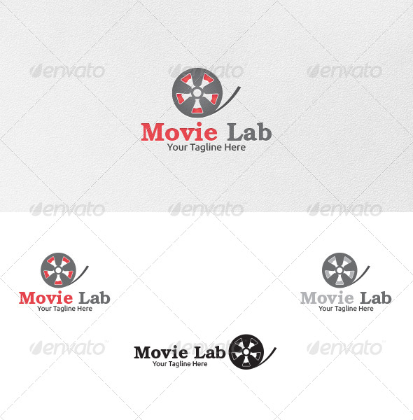 GraphicRiver Movie Lab Logo Template 4847868