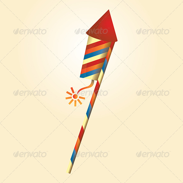 GraphicRiver Firework Rocket 4848155