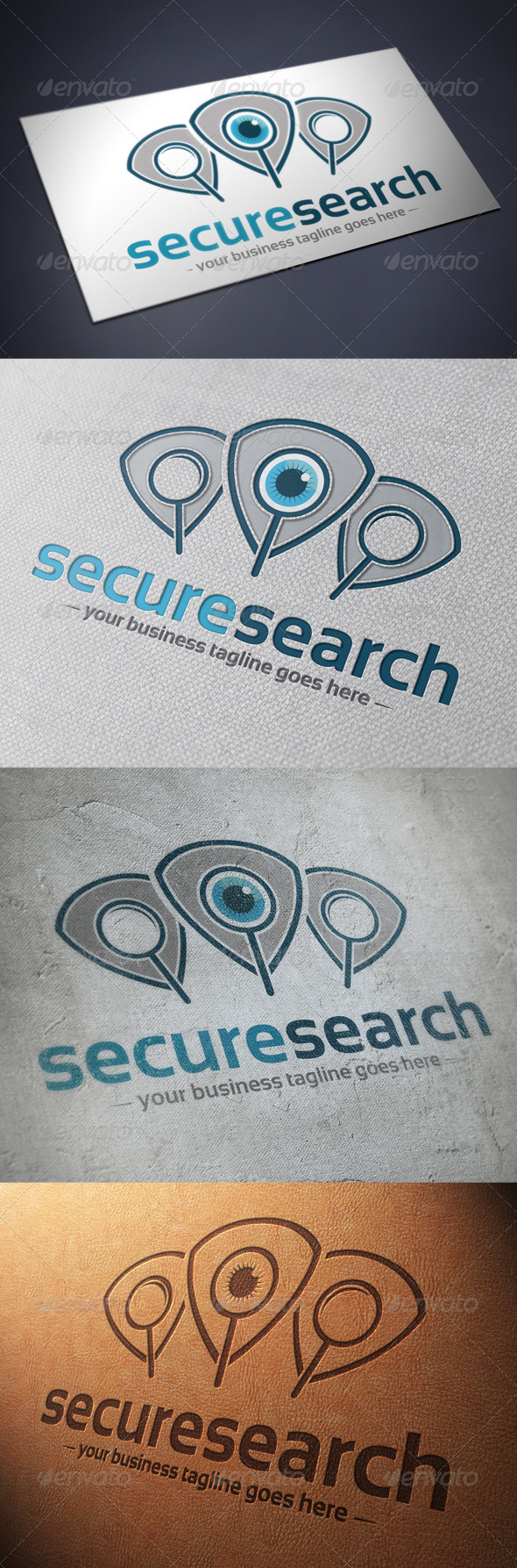 GraphicRiver Security Search Logo Template 4848163