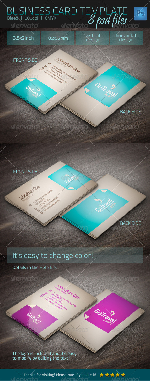 GraphicRiver Business Card Template 4849287