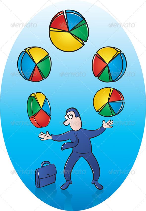 Pie Chart Juggler