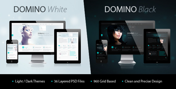Domino PSD Theme