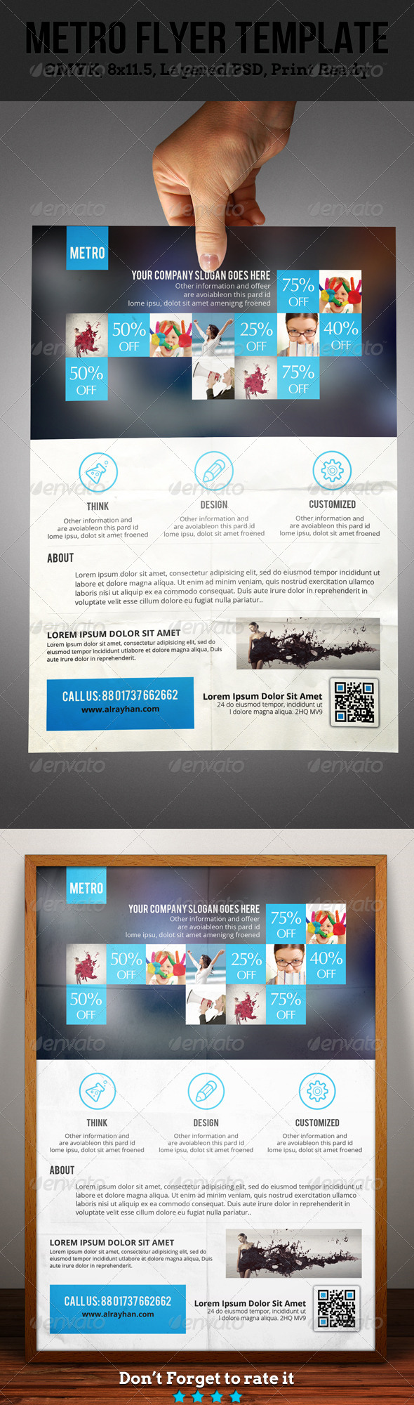 GraphicRiver Metro Corporate Flyer 4849480