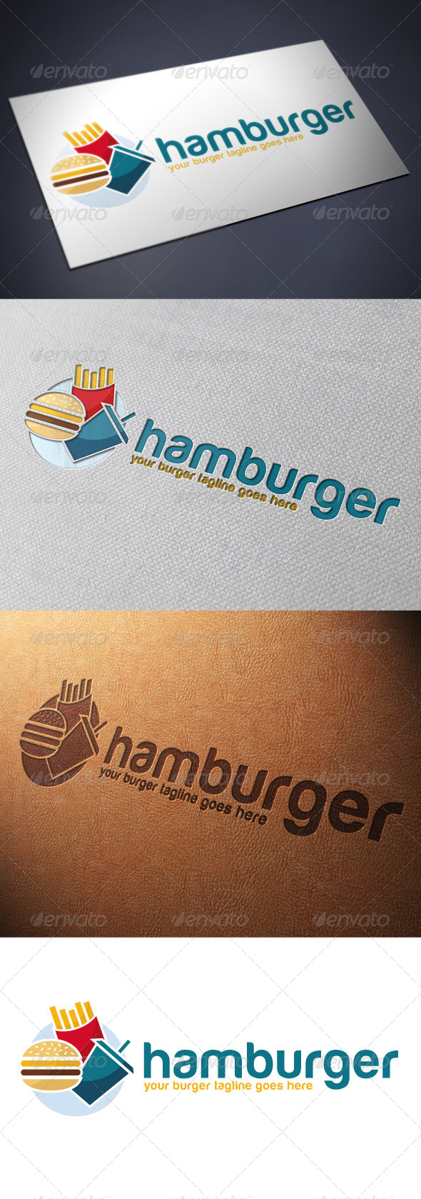 GraphicRiver Burger Logo Template 4849531