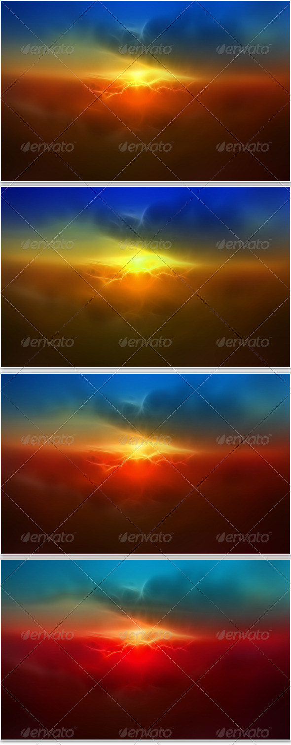 GraphicRiver Sky Light Background 4850068