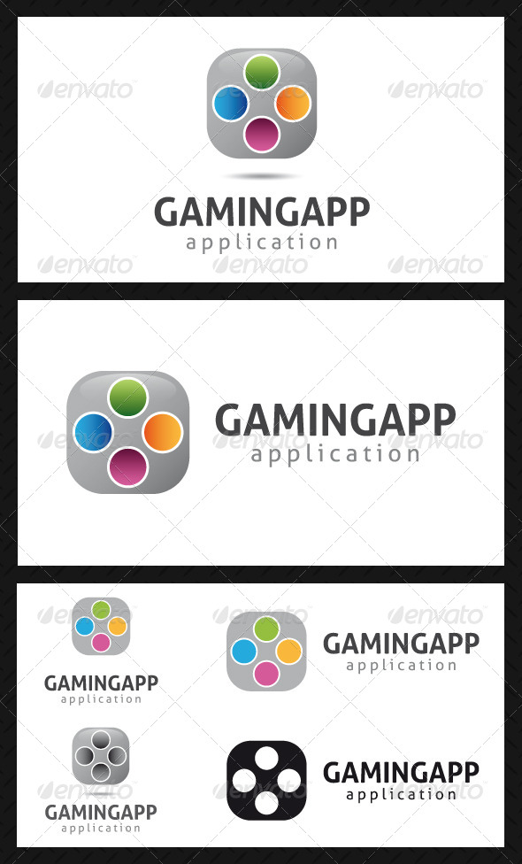 Gaming App Logo Template