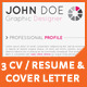 3 set resume + cover letter - GraphicRiver Item for Sale