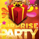 Surprise Party Invitation Post Card - GraphicRiver Item for Sale