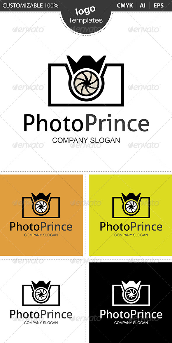 GraphicRiver PhotoPrince Logo 4824761