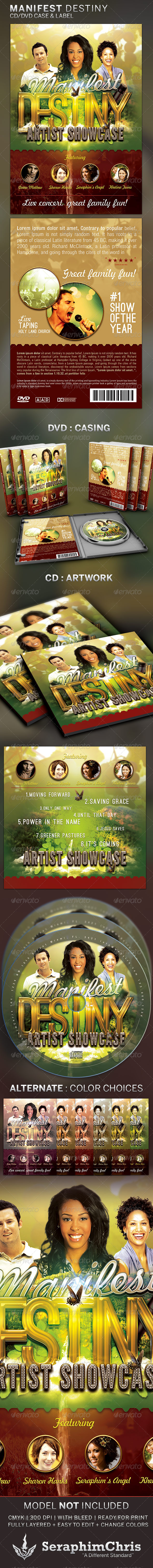 GraphicRiver Manifest Destiny CD DVD Template 4797579