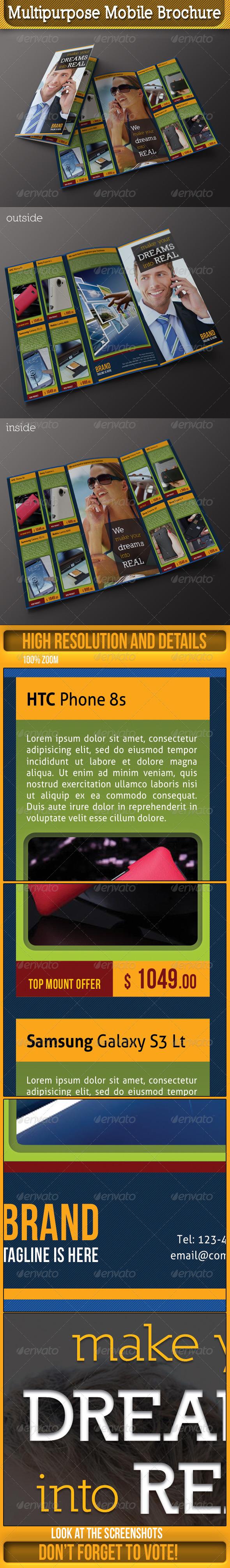 GraphicRiver Mobile 3-Fold Brochure 4782873