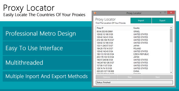 CodeCanyon Proxy Locator 4851873
