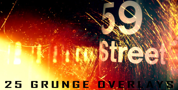 25 Grunge Overlays