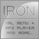 Iron Menu + MP3 Player - ActiveDen Item for Sale
