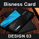 Creative Business Card Design - 03 - GraphicRiver Item for Sale