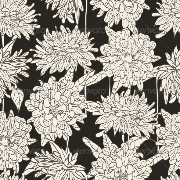 GraphicRiver Seamless Floral Pattern 4854766